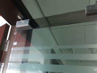 glass door alignment