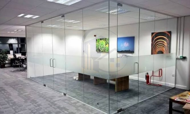 Office Glass Partition in Al Qouz
