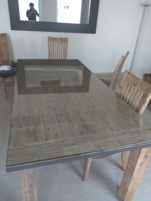 10mm tempered table top