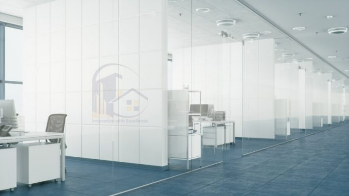 Glass Partition Cabins
