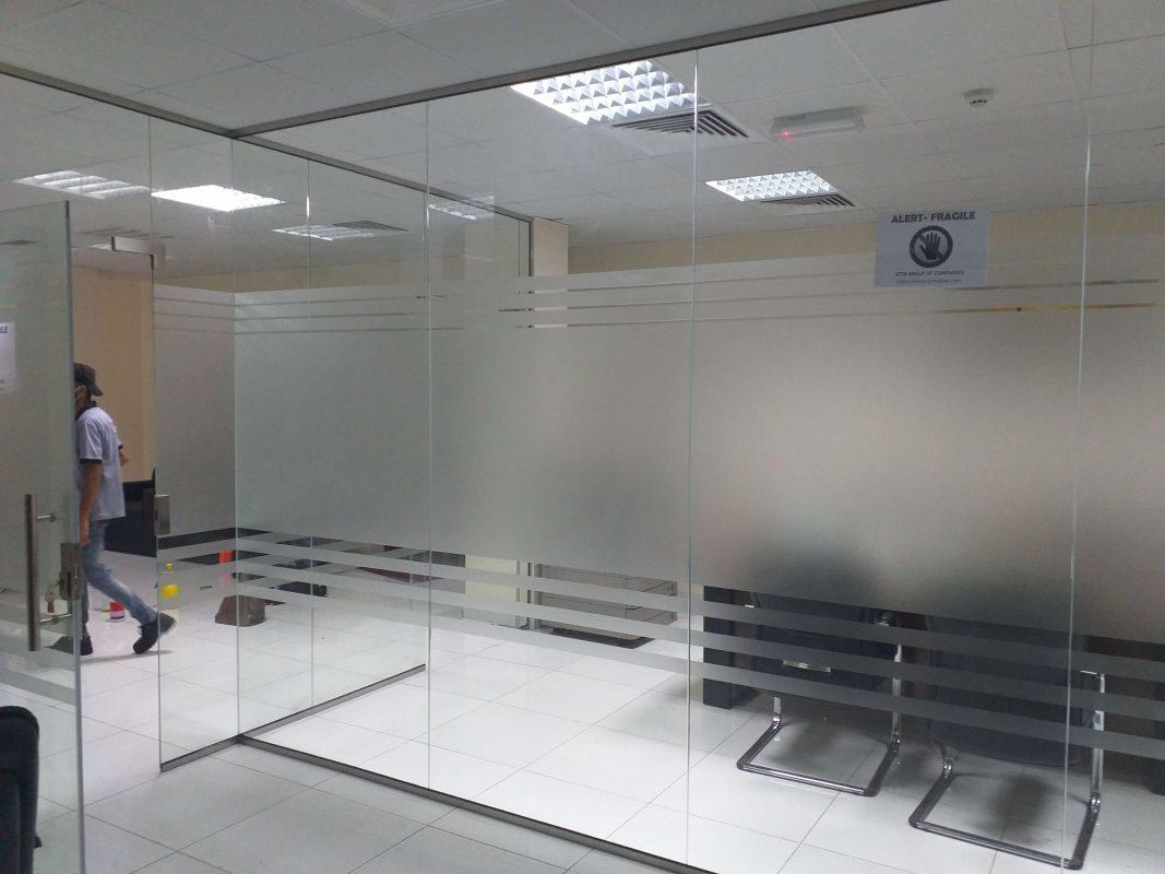 Dubai Mall Control Room Partition